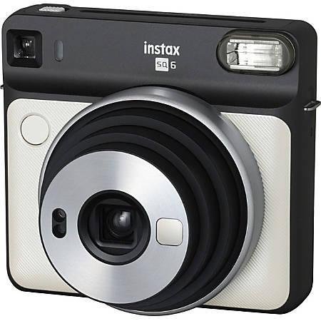 Fujifilm Instax SQUARE SQ6 Instant Camera - Instant Film - Pearl White