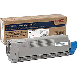 Oki Original Toner Cartridge Magenta LED