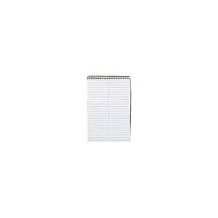 "TOPS™ Steno Book, 6"" x 9"", Gregg Ruled, 70 Sheets, White"