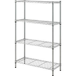 Lorell Light Duty Wire Shelving 4