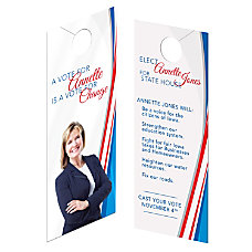 Custom Full Color Door Hangers Print
