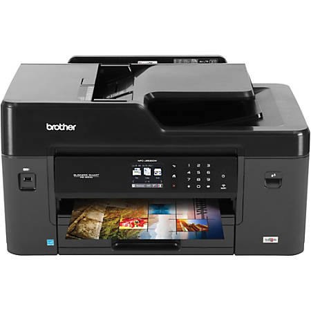 Brother Business Smart Pro MFC-J6530DW Multifunction Wireless Color Printer, Copier, Scanner, Fax