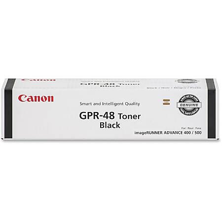 Canon GPR-48 Original Toner Cartridge - Laser - 15200 Pages - Black - 1 Each