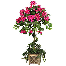 Nearly Natural 34 H Bougainvillea Topiary
