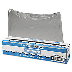 Boardwalk PVC Food Wrap Film Roll