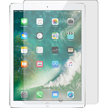 """Targus Screen Protector for 10.5-inch iPad Pro Clear - For 10.5""""LCD iPad Pro - Fingerprint Resistant, Scratch Resistant, Smudge Proof - Polyethylene Terephthalate (PET)"""