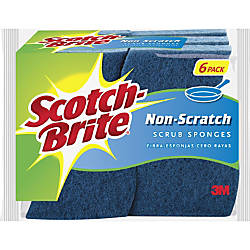 Scotch Brite Non Scratch Scrub Sponges
