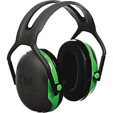 Peltor Over the Head Earmuffs BlackGreen