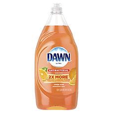Dawn Ultra Antibacterial Dishwashing Liquid Orange