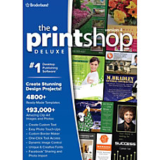 The Print Shop Deluxe v4 with