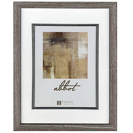 """Timeless Frames® Abbot Frame, 11"""" x 14"""", Gray"""