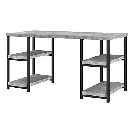 Ameriwood™ Home Ashlar Desk, Light Concrete