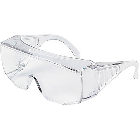 MCR Safety 9800 Spec Yukon Clear Eyewear - Side Shield - Ultraviolet Protection - Polycarbonate - Clear - 1 Each
