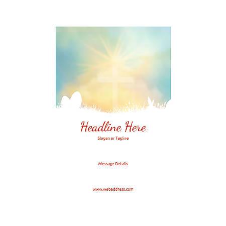 Custom Poster, Vertical, Easter Sky