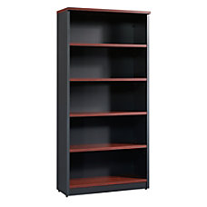 Sauder Via 5 Shelf Library Classic