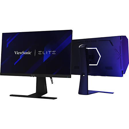 """Viewsonic Elite XG270QG 27"""" WQHD LED Gaming LCD Monitor - 16:9 - In-plane Switching (IPS) Technology - 2560 x 1440 - 1.07 Billion Colors - G-sync - 350 Nit Typical - 1 ms GTG (OD) - 120 Hz Refresh Rate - 2 Speaker(s) - HDMI - DisplayPort"""