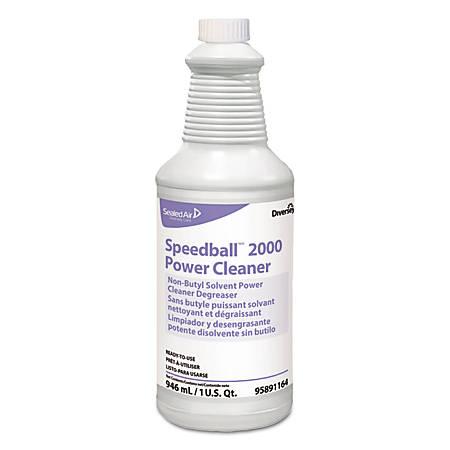 Diversey™ Speedball 2000™ Heavy-Duty Liquid Cleaner, Citrus Scent, 32 Oz, Pack Of 12 Spray Bottles