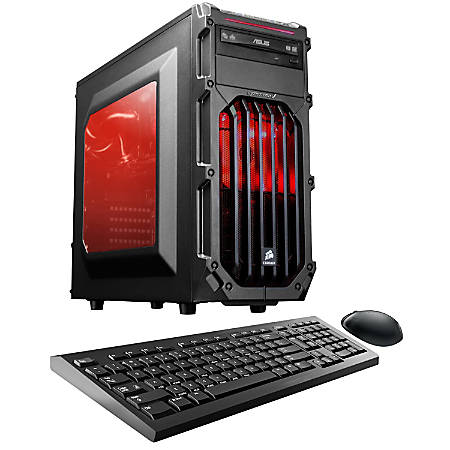 CybertronPC Palladium RX-470M Desktop PC, Intel® Core™ i5, 16GB Memory, 1TB Hard Drive, Windows® 10, Radeon RX 470