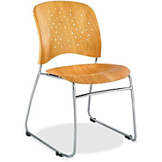 Safco Reve Wood Guest Chair Natural