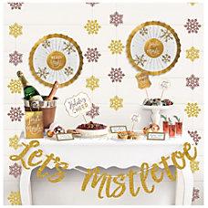 Amscan Christmas Lets Mistletoe Deluxe Buffet