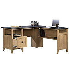 Sauder August Hill L Shaped Desk