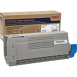 Oki Original Toner Cartridge Cyan LED