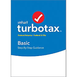 TurboTax Basic Federal E File 2017