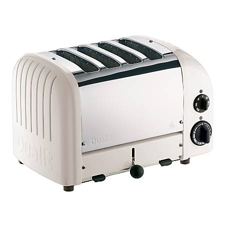 Dualit® New Gen 4-Slice Extra-Wide-Slot Toaster, Feather