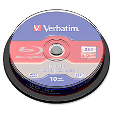 Verbatim BD RE 25GB 2X with