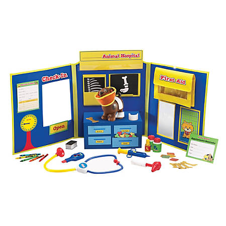 """Learning Resources® Pretend & Play Animal Hospital, 16"""" x 38"""", Pre-K - Grade 1"""