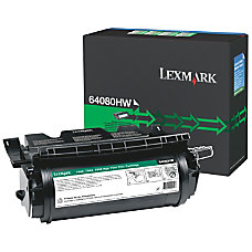Lexmark 64080HW High Yield Black Toner