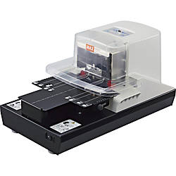 MAX Electronic Stapler 100 Sheets Capacity