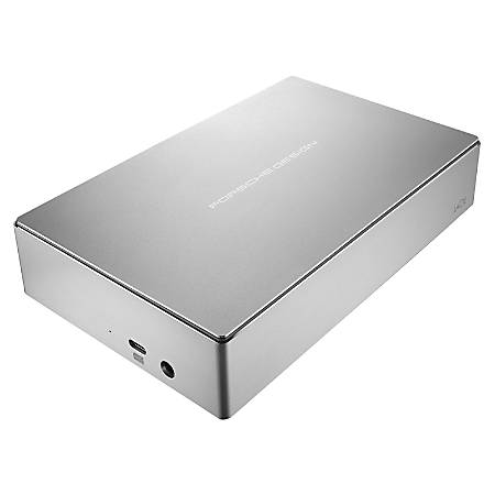 LaCie Porsche Design STEW6000400 6 TB Hard Drive - External - Desktop
