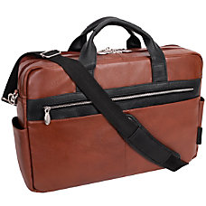 McKleinUSA Southport Briefcase With 17 Laptop