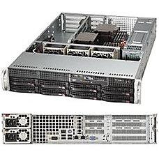 Supermicro SuperServer 6028R WTRT Server rack