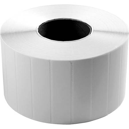 "Wasp Barcode Label - 3.5"" Width x 1"" Length - 2300/Roll - 1"" Core - 4 Roll"