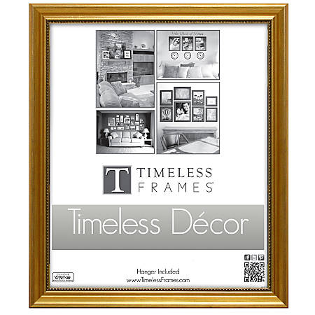 """Timeless Frames® Astor Frame, 8"""" x 10"""", Gold"""