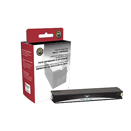 Clover Imaging Group 118058 Remanufactured Ink Cartridge Replacement For HP 980 Cyan