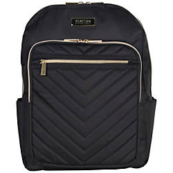 Kenneth Cole Reaction Chevron Quilted Polyester