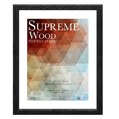 Timeless Frames Supreme Picture Frame 16 X 20 Black By Office Depot