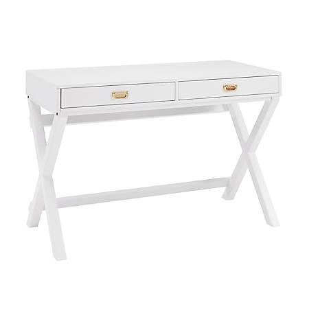 Linon Ari Writing Desk, White