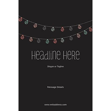 Custom Poster, Lanterns, Vertical