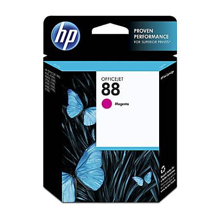 HP 88, Magenta Original Ink Cartridge (C9387AN)
