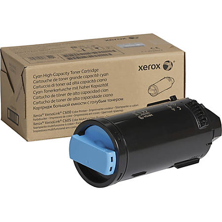 Xerox Original Toner Cartridge - Cyan