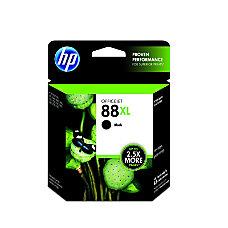 HP 88XL Black Ink Cartridge C9396AN
