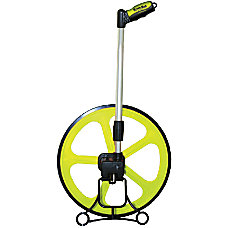 19 MEASURING WHEEL HI VIZ GREEN