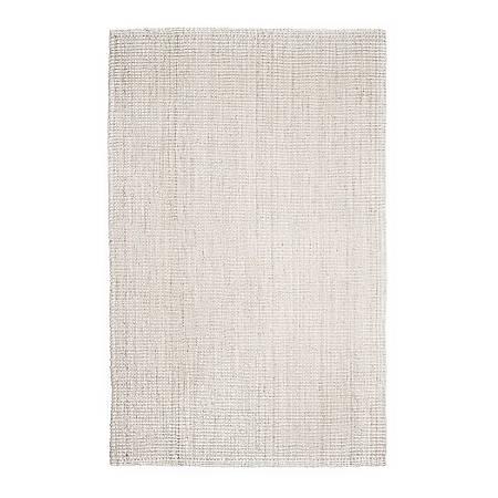 "Anji Mountain Andes Jute Rug, 2' 6"" x 8', Ivory"