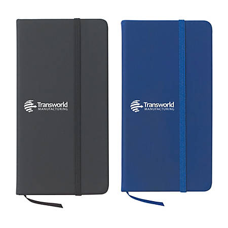 """Journal Notebook, 3 1/2"""" x 6 1/2"""", 80 Pages (40 Sheets), Assorted Colors"""