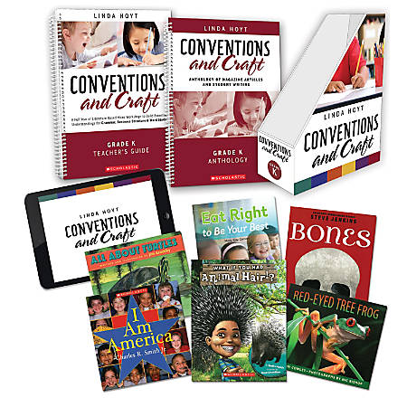 Scholastic Professional Conventions And Craft Instruction Kit, Kindergarten
