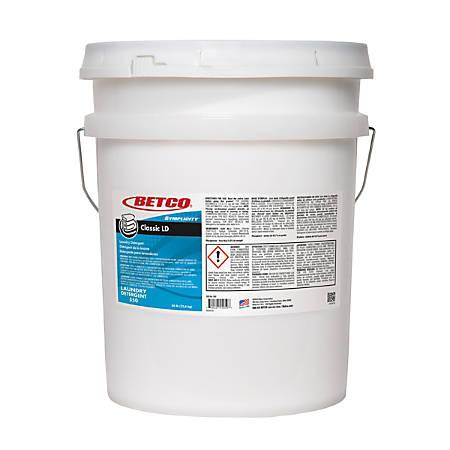 Betco® SYMPLICITY™ Classic Laundry Detergent, Citrus Scent, 50 Lb Pail